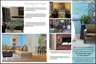 Living Sims - Web browser version with REAL interior designs tips