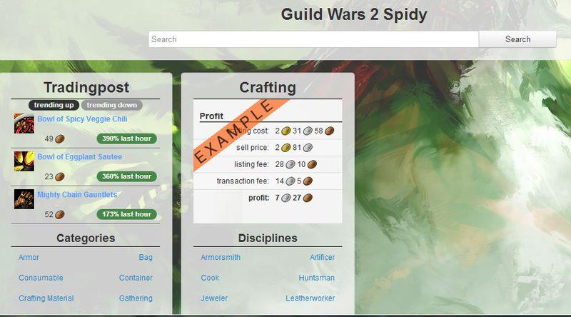 Gw2 spidy
