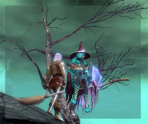 & Mystic Worlds: GW2 - Culmination of My Halloween Activities