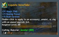 Exotic Snowflakes